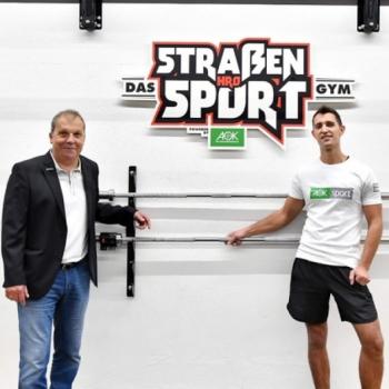 AOK Nordost unterstützt Rostocker Straßensport-GYM